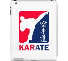 Karate iPad Case/Skin
