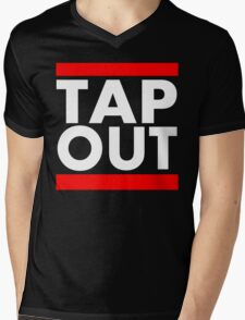 Tap Out Mens V-Neck T-Shirt