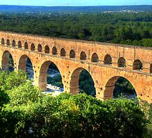 Pont du Gard by polanri