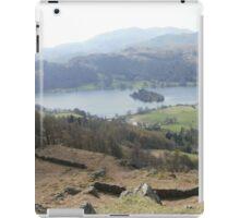 Mountain climbing in the Lakes iPad Case/Skin