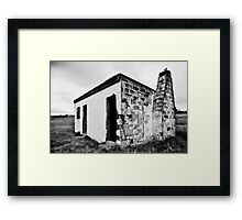 Loan Cottage Framed Print