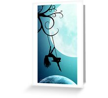 Above The World As It Sleeps Greeting Card