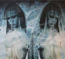 Warren Haney  'Chimera' 124 cm x 176 cm    Acrylic on Stretched Canvas by Warren Haney