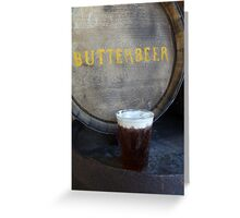 Butterbeer Greeting Card