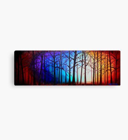 Tangled Trees Canvas Print