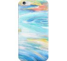 Soft Water Modern Painting iPhone Case/Skin