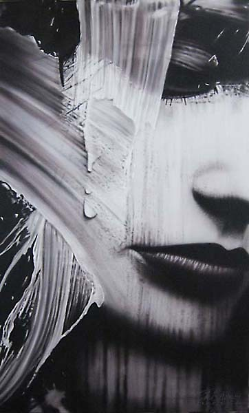 Warren Haney,  'Never Have I Known'  160 cm x 90 cm    Acrylic on Stretched Canvas by Warren Haney