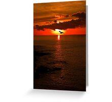 Lizard Point Sunrise  Greeting Card