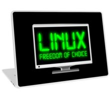 Linux - Freedom Of Choice Laptop Skin