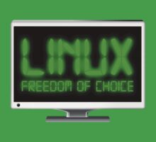 Linux - Freedom Of Choice Kids Clothes