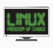 Linux - Freedom Of Choice One Piece - Long Sleeve