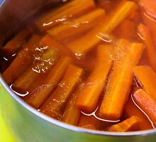 Glazed Carrots by Rhonda F.  Taylor