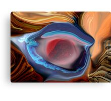 Eye Rate PSP Canvas Print
