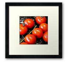 Roasted Cherry Tomatoes Framed Print