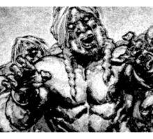 Ibraim Roberson Zombie 2 Sticker