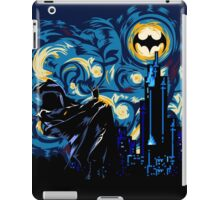 Vampire Starry night digital art iPad Case/Skin