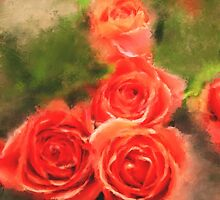 Red Roses by Patricia Lintner