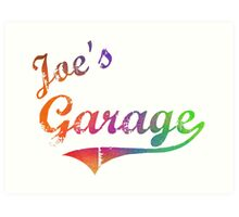 Joe's Garage - Frank Zappa Art Print
