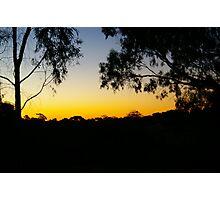 evening walk  Photographic Print