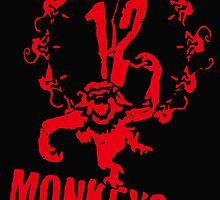 twelve monkeys 12 by RNRRADIO