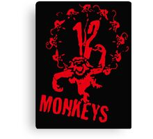 twelve monkeys 12 Canvas Print