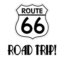 Road Trip on Route 66 Photographic Print