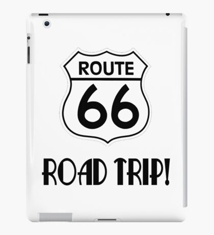 Road Trip on Route 66 iPad Case/Skin