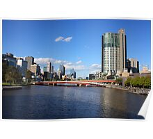 Architectural View of Melbourne Poster