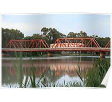 Paringa Bridge,Paringa,S.A. Poster