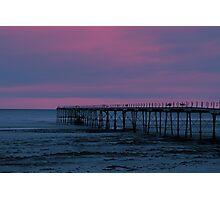 The Pier - Saltburn (Split Toned) Photographic Print