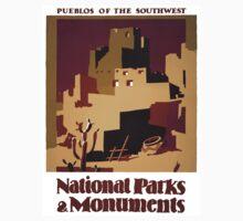 Pueblos of the American Southwest Kids Tee