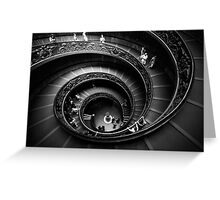Winding Down (in B&W) Greeting Card