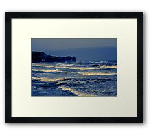 Waves - Sandsend  (Split Toned) Framed Print