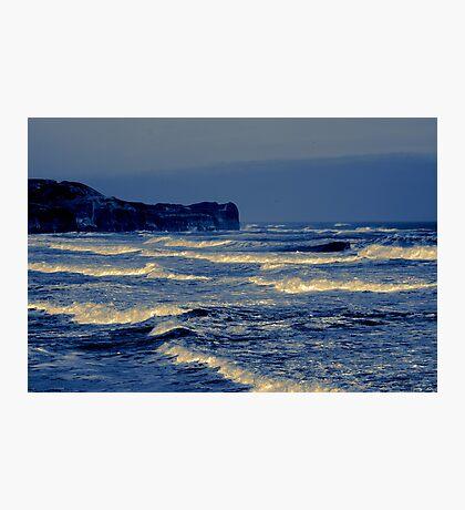 Waves - Sandsend  (Split Toned) Photographic Print