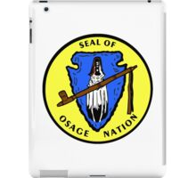 Seal of the Osage Nation iPad Case/Skin