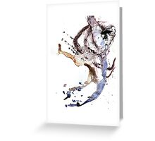 Oil and Water #24 Greeting Card