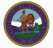 Great Seal of the Chickasaw Nation by Chunga