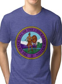 Great Seal of the Chickasaw Nation Tri-blend T-Shirt