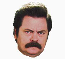 Ron face by hmbustamante