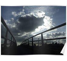 the bridge, hythe kent Poster
