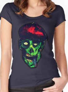 Evil Ed  Women's Fitted Scoop T-Shirt