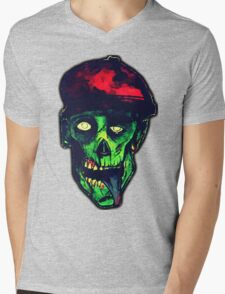 Evil Ed  Mens V-Neck T-Shirt