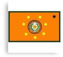 The Cherokee Nation - Flag Canvas Print