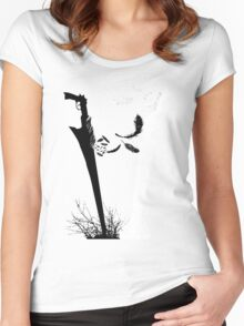Final Fantasy VIII Blades of Rivals  Women's Fitted Scoop T-Shirt