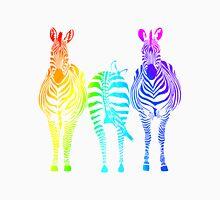Rainbow Zebras Unisex T-Shirt