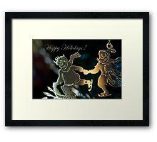 Happy Holidays ! Framed Print