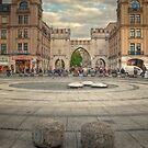 Karlsplatz HDR - Munich by Jakov Cordina