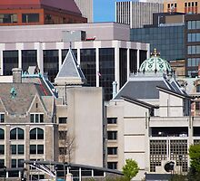 150 Years of Downtown Albany NY Architecture by John Schneider