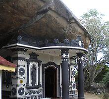 Sankapala Cave Temple in Embilipitiya, Sri Lanka by indrajith