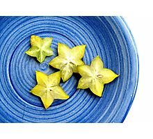 Star Fruit  Photographic Print